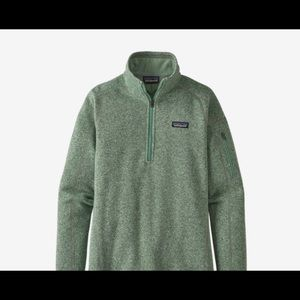 Patagonia Better Sweater 1/2 Zip Pullover L Green